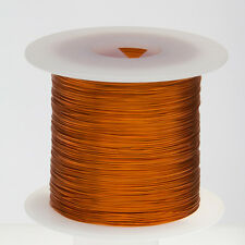 "18 AWG Gauge Enameled Copper Magnet Wire 1.0 lbs 199' Length 0.0428"" 200C Nat"