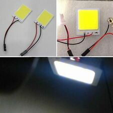 High Power 8W 48 chips COB LED Dome Light Panel Interior Lamp T10 DC 12V B68