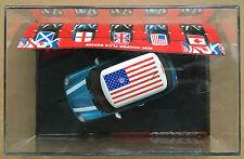 """Ninco 50302 Mini Cooper """"Estrellas Y Rayas"""" EEUU 1/32 NUEVO"""