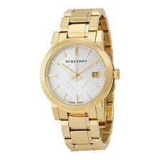 BU9103 Burberry Women's Swiss Gold Tone Stainless Steel Watch on SALE Authentic