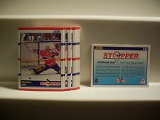 1990-91 Score #344 Patrick Roy Stopper Lot of 20