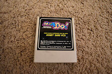 Atari 2600 - Coleco - Mr. Do! - Vintage Video Game - TESTED