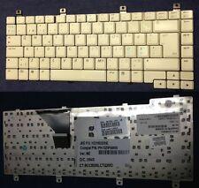 TECLADO QWERTY DANÉs HP C300 serie K031802B3NE 407856-DH1 PK13ZIP06W0 Gris