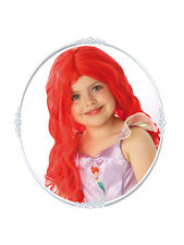 Child Princess Ariel Wig Fancy Dress Costume Disney Headwear Kids girls BN
