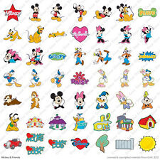 Cricut Mickey Mouse and Friends Disney Cartridge Die Cut World Minnie Goofy NEW