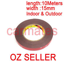 3M Genuine Automotive Acrylic Plus Double Face Sided Tape 15mm 10 Meters AU