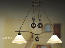 New Pendent Bronze Ceiling light With Frosted Glass Ceiling Light Fixture. Acro2