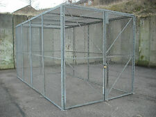 Security Cage,Secure Storage,Ex Army Ammo Store,Double Doors,Fully Galv,16x8x8ft