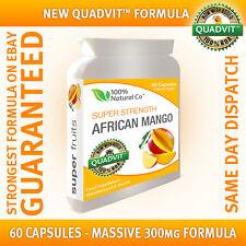 Mangue Africaine Ultra-6000 - 30 Jours Cure, 6000mg, Végétarien Tolérant