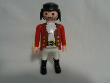 Vintage 2000 Playmobil Replacement Pirate / Soldier w/ Red Jacket Figure