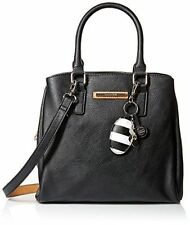 Rosetti Celine W/Perf Top Handle Bag, Black Perforated, One Size