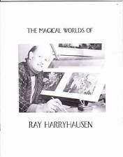 THE MAGICAL WORLDS OF RAY HARRYHAUSEN - 1999 Hollywood forum program book