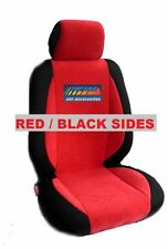 mix VELOUR and SYNTHETIC TWO FRONT CUSTOM CAR SEAT COVERS - SELECT SUBARU  MODEL