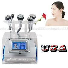 5 in 1 Cavitation Vacuum Bipolar RF Laser Slimming Machine Fat Wrinkle 2-5 Days!