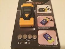 Moisture Meter - For Wood Or Tobacco. Also Measures Air Temperature