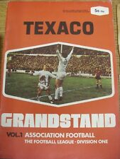 1970/1971 Texaco: Grandstand - Vol.1 Association Football, The Football League,