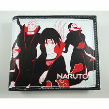 NEW Naruto Ninja Coin Pouch Bag Purse Wallet In Box + Charm FREE SHIP