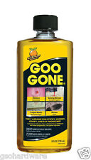 Goo Gone 8oz Citrus Solvent Cleaner Removes Stickers, Tape, Oil, Gum, Tar NEW!