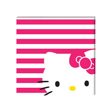 HELLO KITTY Stretched Canvas - MEOW - Ready to Hang - Vandor 18123
