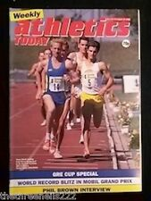ATHLETICS TODAY - PHIL BROWN INTERVIEW - AUG 24 1989