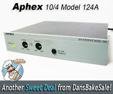Aphex 124A -10/+4 2 Channel Pro Audio Level Matching Interface Box AX124A