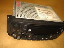RADIO STEREO CD PLAYER UNIT CHRYSLER JEEP VOYAGER CHEROKEE P04858543AG - A #CA4