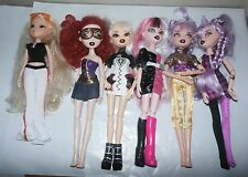 BRATZILLAZ Doll Lot  Dressed Clothes monster high Lot of 6 BRATZ Collect