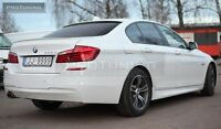 BMW F10 09-16 REAR WINDOW SPOILER ROOF EXTENSION Cover SUN GUARD Trim M5 saloon