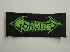 GORGUTS DEATH METAL WOVEN PATCH