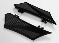 Floorboards for Harley Baggers Chrome-E-O Performance Black w/ Rubber Inserts