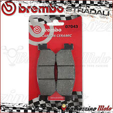 PLAQUETTES FREIN ARRIERE BREMBO CARBON CERAMIC YAMAHA MAJESTY DX-ABS 250 2002
