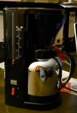 Kaffee Maschine SHG Isolierkanne Chromfarben Kabelaufwicklung 8 Tassen Ein/Aus