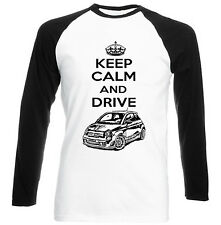 FIAT ABARTH 2015 INSPIRED KEEP CALM P - NEW COTTON TSHIRT - ALL SIZES IN STOCK