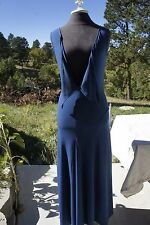 SHAPE FX Royal Blue ~EVENING GOWN ~MAXI DRESS~ NWT Sleeveless Gored Skirt 6-8 S