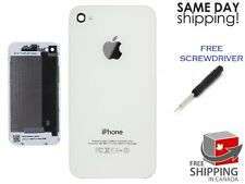 BRAND New Back Battery Housing Cover Glass Replacement for iPhone 4S A1387 WHITE