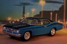 1972 72 PLYMOUTH DUSTER 340 WEDGE 1/64 SCALE COLLECTIBLE MOPAR MODEL - DIORAMA