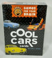 Games For Your Brain - - Cool Cars Cards - -  New