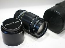 Asahi Pentax 135mm 1:3.5 Takumar M42 camera mount lens Rare Black preset type