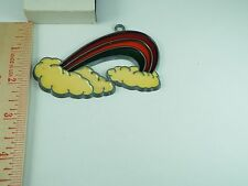 VINTAGE RAINBOW CLOUDS  SUN CATCHER WINDOW DECORATION (A-19)
