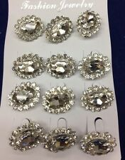New Brooch,Hijab, Scarf, Abaya, Hat Pins Set Of 12 Pc For £4.99