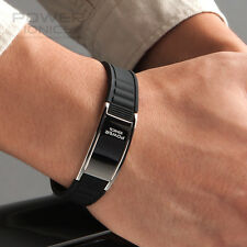 Titanium Magnetic Power Ionics Bracelet Band Balance BK