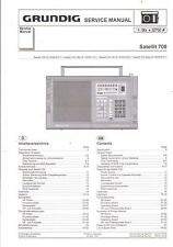 Grundig Service Manual für Satellit 700