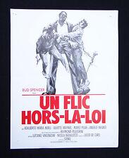 UN FLIC HORS-LA-LOI synopsis pressbook film cinema 1973 BUD SPENCER