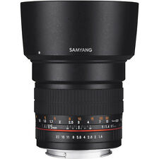 Samyang 85mm f/1.4 Aspherical IF MC Lens Nikon