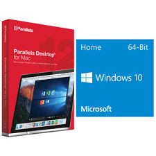 Parallels Desktop 12 for Mac (Download) + Windows 10 Home OEM 64-bit