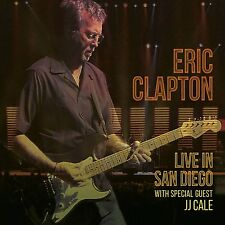 ERIC CLAPTON LIVE IN SAN DIEGO 2 CD - NEW RELEASE SEPTEMBER 2016