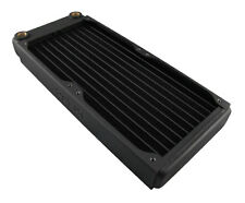 XSPC EX240 Slim Line Dual 120mm Fan Radiator Black