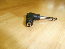 "1/4"" Right Angle Stereo Phone Plug to Mini 3.5MM 1/8"" Stereo Phone Jack,559RA"