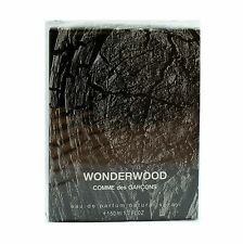WONDERWOOD BY COMME DES GARCONS EAU DE PARFUM NATURAL SPRAY 50 ML/1.7 FL.OZ.