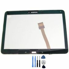 Samsung Galaxy Tab 4 10.1 t530 t535 Touchscreen Display Vetro Digitizer Nero